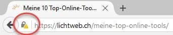 Firefox blockiert SSL