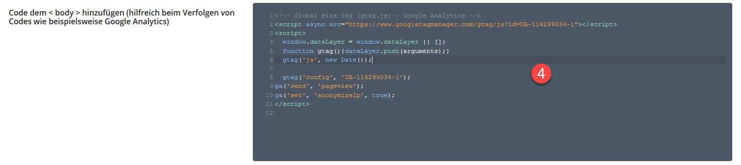 Divi und Google Analytics