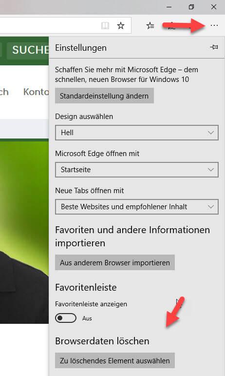 Microsoft Edge Cache
